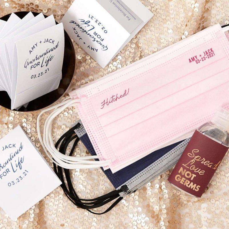 COVID wedding supplies