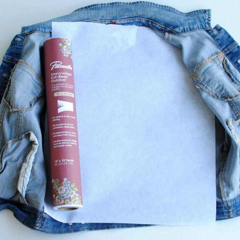 DIY Bridal Jacket - Step 3